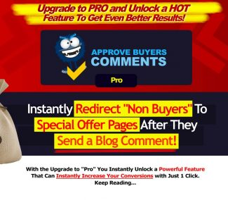 Approve Buyer Comments Pro Personal Use Software
