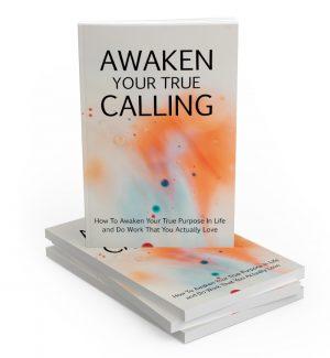 Awaken Your True Calling MRR Ebook