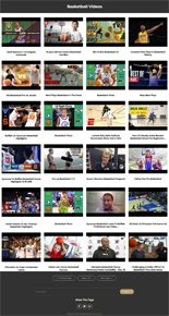 Basketball Instant Mobile Video Site MRR Software