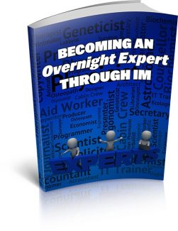 Becoming An Overnight Expert Through Im MRR Ebook