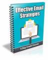 Effective Email Strategies PLR Autoresponder Messages