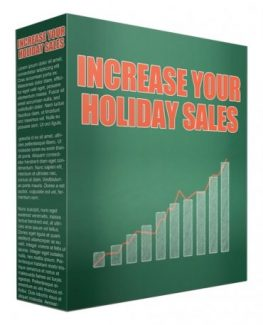 Increase Your Holiday Sales Giveaway Rights Video With Audio