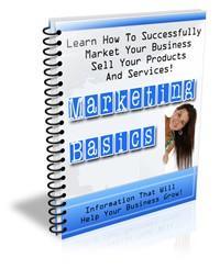 Marketing Basics Newsletter PLR Autoresponder Messages