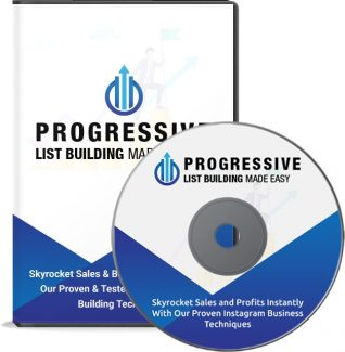 Progressive List Building Made Easy Video Upgrade Personal Use Video With Audio