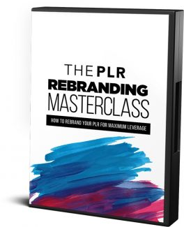 The Plr Rebranding Masterclass Resale Rights Video