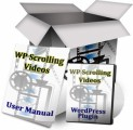 Wp Scrolling Videos PLR Software With Video