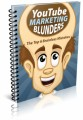 Youtube Marketing Blunders PLR Ebook