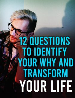 12 Questions To Identify Your Why And Transform Your Life MRR Ebook