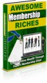 Awesome Membership Riches PLR Ebook