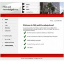 Faq And Knowledgebase Red Personal Use Template