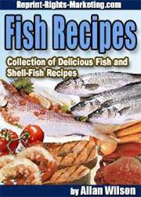 Fish Recipes PLR Ebook