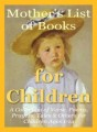 Mothers List Of Books For Children Personal Use Ebook