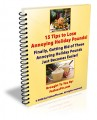 15 Tips To Lose Annoying Holiday Pounds Mrr Ebook