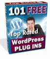 101 Top Rated WordPress Plugins Mrr Ebook