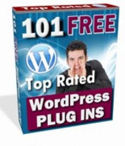 101 Top Rated WordPress Plugins Mrr Ebook