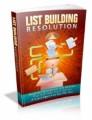 List Building Resolution Mrr Ebook