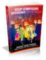 Stop Compulsive Spending Right Now Mrr Ebook