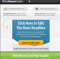 Affiliate Banner Graphics Tool Personal Use Graphic