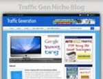 Traffic Generation Niche Blog Personal Use Template ...