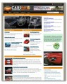 Cars And Automobile Niche Blog PLR Template