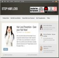 Hair Loss Niche Blog Personal Use Template With Video