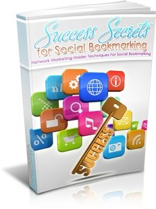 Success Secrets For Social Bookmarking Mrr Ebook