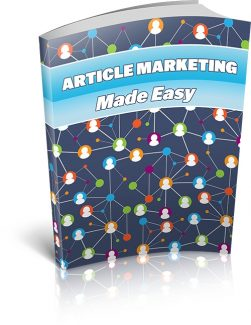 Article Marketing Made Easy MRR Ebook