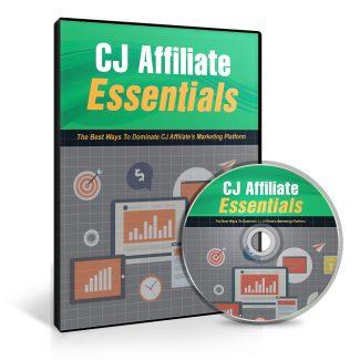 Cj Affiliate Essentials MRR Video With Audio
