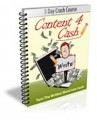 Content For Cash PLR Autoresponder Messages