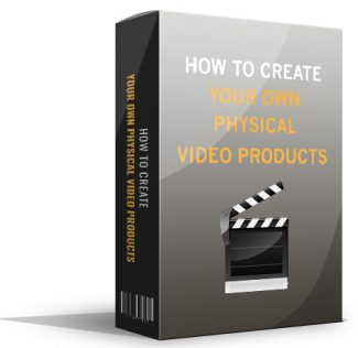 Create Your Own Physical Video Products Giveaway Rights Ebook