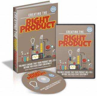 Creating The Right Product MRR Ebook