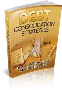 Debt Consolidation Strategies Give Away Rights Ebook