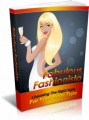 Fabulous Fashionista MRR Ebook