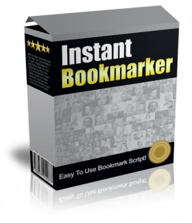 Instant Bookmarker Script Give Away Rights Software