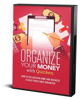Organize Your Money With Quicken MRR Video With Audio