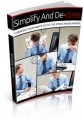 Simplify And Destress Give Away Rights Ebook