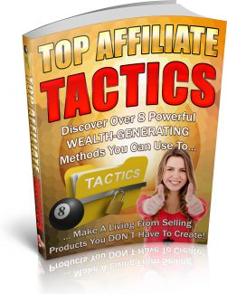 Top Affiliate Tactics PLR Ebook
