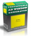 Unstoppable Ad Window Generator Personal Use Software