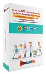 Video Explainer Assets Deluxe PLR Graphic