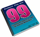 99 Resources and Tools MRR Ebook