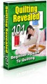 Quilting Revealed 101 Plr Ebook