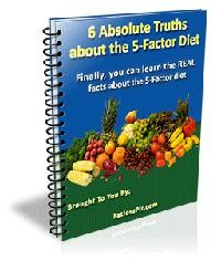 6 Absolute Truths About The 5-Factor Diet MRR Ebook