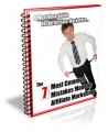 7 Most Common Mistakes Made In Affiliate Marketing PLR Ebook