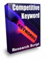 Competitive Keyword Research Script Resale Rights Script