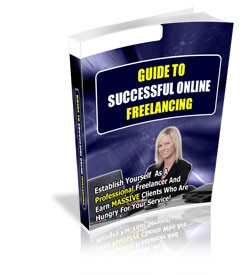 Guide To Successful Online Freelancing PLR Ebook