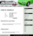My Auto Mall - Green Personal Use Template