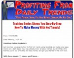 Profiting From Daily Trends Plr Video