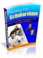 Getting Into Scholarships Mrr Ebook
