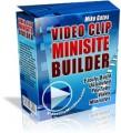 Video Clip Minisite Builder Mrr Script