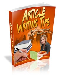 Article Writing Tips MRR Ebook